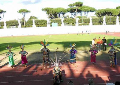 Danza Azteca, Stadio dei Marmi